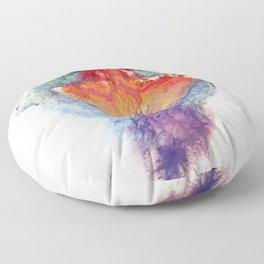 Pepper Kester's Vulva Art Floor Pillow