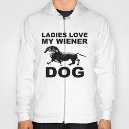 Ladies Love my Wiener Dog Hoody