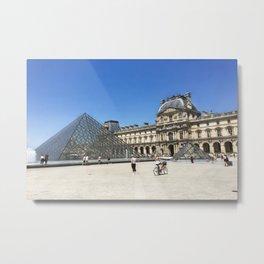Louvre - Paris, France Metal Print