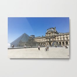 Louvre - Paris, France Metal Print