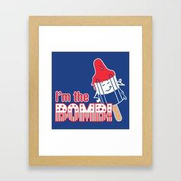 I'm the Bomb Framed Art Print