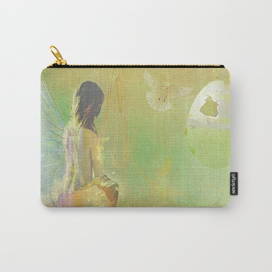 The angel and the dove of the peace Carry-All Pouch
