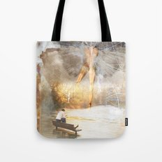 The Sacred and the Mundane Tote Bag