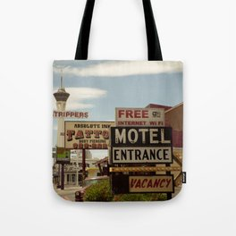 Strip on the Strip - Las Vegas Tote Bag