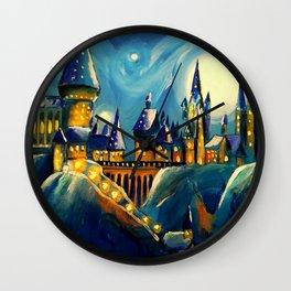 Magical Night Wall Clock