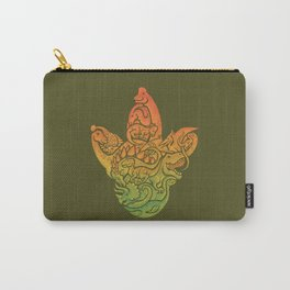 Prehistoric Print Carry-All Pouch