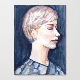 A Silent Dreamer Canvas Print