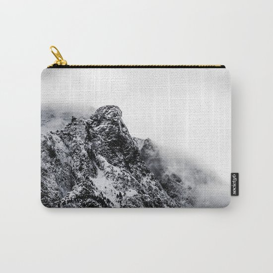 Mountain black white 5 photo Carry-All Pouch