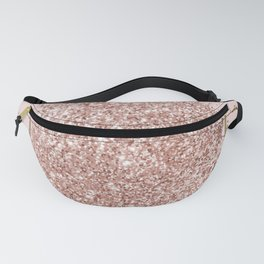 Pink Marble & Pink Glitter Fanny Pack