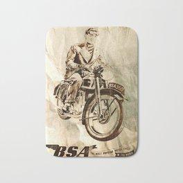 BSA - Vintage Poster Bath Mat