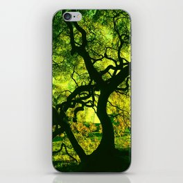 Green is the Tree iPhone Skin