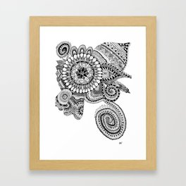 Zendoodle Print Framed Art Print