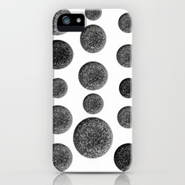 Stones  Black and White Nature Photography iPhone Case