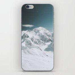 Snowy Mountain : Mount Denali, Alaska iPhone Skin