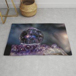 Crystal Ball Water drops Rug
