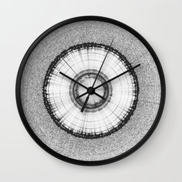 Collage 1 of Earth, Sputnik-1, Sun & Interstellar Space Wall Clock
