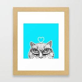 Cat B Framed Art Print
