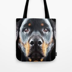 Rottie Love - Rottweiler Art By Sharon Cummings Tote Bag