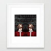 third eye Framed Art Prints featuring Third Eye by elle moss
