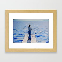 """Forward"" Framed Art Print"