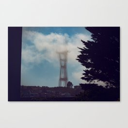 Sutro Quake - San Francisco Canvas Print
