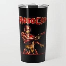 Robocop Red Vision Travel Mug
