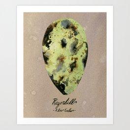 Razorbill Egg Art Print