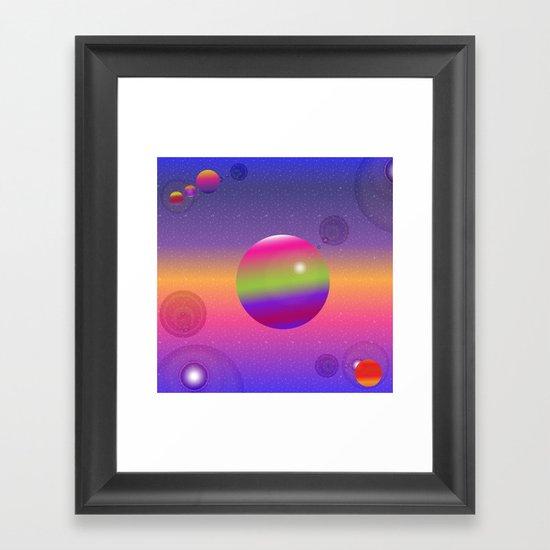 """Cosmos #1"" Framed Art Print"