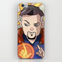 Dr Strange Cartoon iPhone Skin