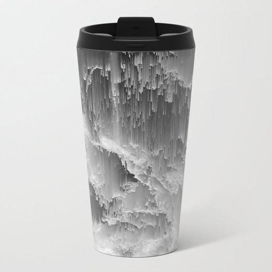 Sea Drift Metal Travel Mug