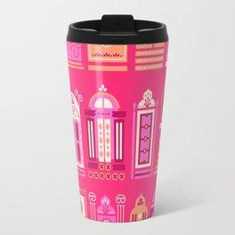 Moroccan Doors – Pink Palette Travel Mug