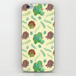 Paddle Plant Pattern iPhone Skin