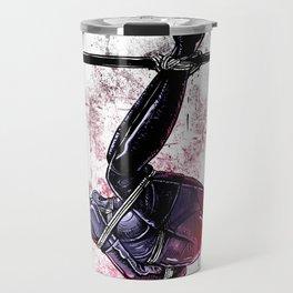 Bondage Catwoman Travel Mug