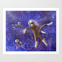They Came From Outer Space Art Print