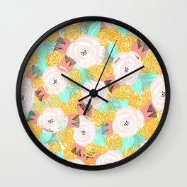 LE Print Wall Clock