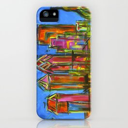 Philadelphia Skyline iPhone Case