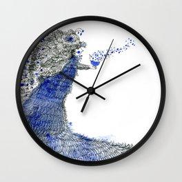 Spreading love Wall Clock