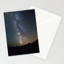 Milky Way over Acadia National Park Stationery Cards