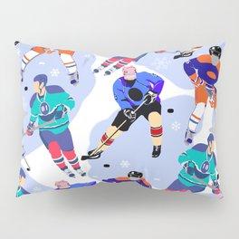 Ice Hockey print 001 Pillow Sham