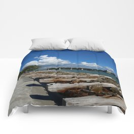 Drawbridge Over Longboat Pass Comforters