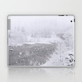 Light Snowfall Laptop & iPad Skin