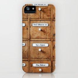 Pharmacy storage iPhone Case