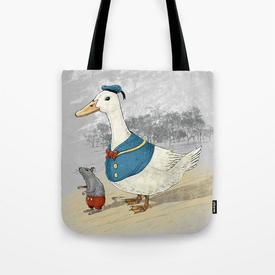 Donald and Mickey Tote Bag
