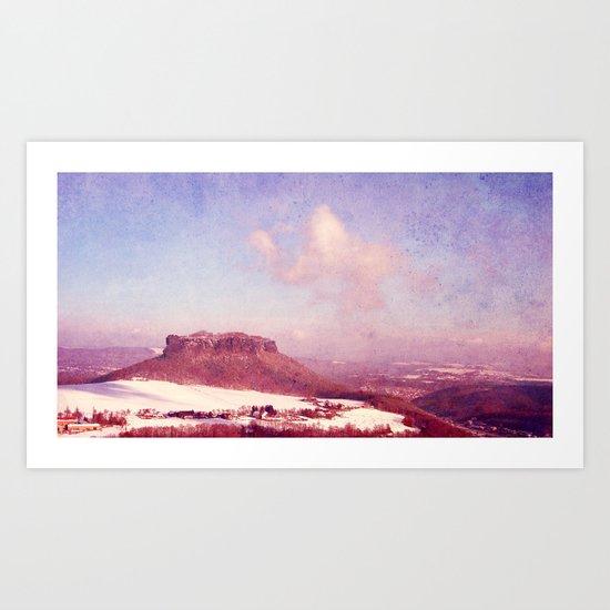 small hill Art Print