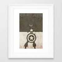 america Framed Art Prints featuring America by Christophe Chiozzi