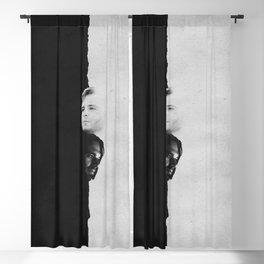 Bucky & James | Split Blackout Curtain