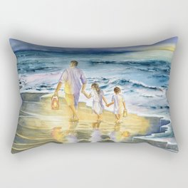 Summer Vacation Memory Rectangular Pillow