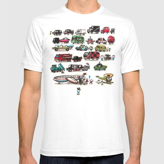 On Our Way. T-shirt