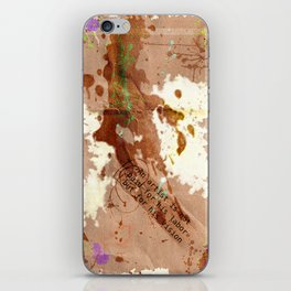 Splatter iPhone Skin