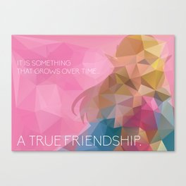 Zelda: True Friendship Canvas Print